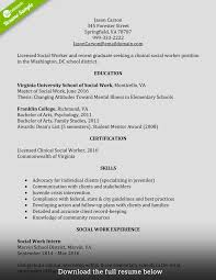 qualifications for a resume examples how to write a perfect social worker resume examples included social worker resume entry level