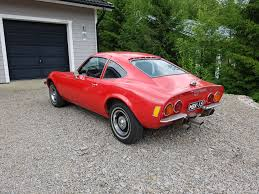 opel gt opel gt coupe 1900 coupé 1971 used vehicle nettiauto