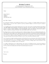 Cover Letter For Resume Examples For Students by Download Writing A Cover Letter For A Teaching Position