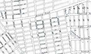 Street Map Of New York City by Both A U201cfirst Street U201d And A U201c1 Street U201d On The Street Commissioners
