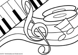harp coloring page 31 best music coloring pages images on pinterest music classroom
