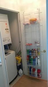 Kitchen Organization Ideas Small Spaces by Best 25 Behind Door Storage Ideas On Pinterest Broom Storage