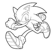 super sonic coloring pages sonic runs coloring pages for kids printable free printables