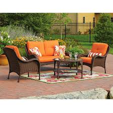 Wicker Outdoor Furniture Sets by Replacement Cushions For Patio Sets Sold At Walmart Garden Winds