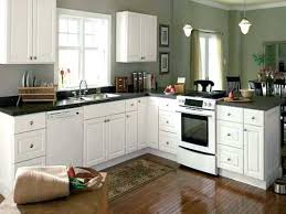 Small Kitchens With White Cabinets  Colorviewfinderco - Good color for kitchen cabinets