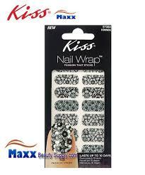 kiss nail wrap fashion sticks 18 strip nail art sticker 4 99
