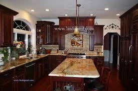 Tuscan Backsplash Tile Murals Tuscany Design Kitchen Tiles - Kitchen with backsplash