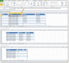 Two Way Tables Worksheet Create The Union Of Two Tables In Excel Dr James Bayley