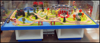 Build Wood Toy Trains Pdf by Wooden Train Table Traindame Blog Station