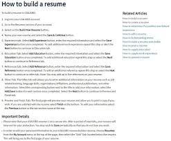 Usajobs Example Resume by How To Apply
