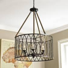denley 6 light pendant chandelier this light looks amazing in a 2