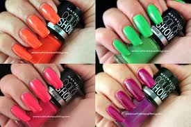 nuthin u0027 but a nail thing maybelline color show neon collection
