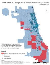 Public Transit Chicago Map by February 2015 What Areas In Chicago Would Benefit From A Divvy