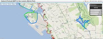 San Francisco Bart Map Maps Hike Stats And Transportation U2013 The San Francisco Bay Trail