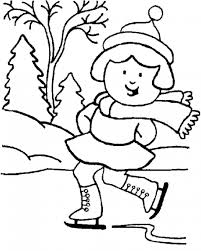 winter coloring pages for preschoolers coloringstar