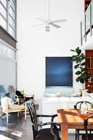 Dining Room Ceiling Fan by Double Height Ceiling High Ceiling Fan Modern Dining Room Mar15
