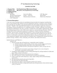Sample Resume For Mechanical Design Engineer by Machinist Resume Sample Machinist Resume Template Field Sales And