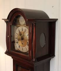 Grandmother Clock Antiques Atlas Mahogany Grandmother Clock With Westminster Chimes