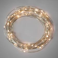 battery operated fairy lights warm white 40 led fine wire 2 sets