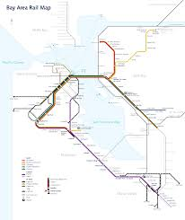 Sf Metro Map by Wikipedia Featured Picture Candidates Bay Area Rapid Transit