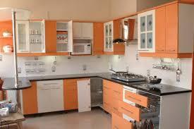 Orange And White Kitchen Ideas Orange Kitchen Design Zamp Co