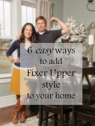 Fixer Upper Living Room Wall Decor 6 Easy Ways To Add Fixer Upper Style To Your Home For The Home