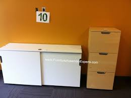 Desk With File Cabinet Ikea by Ikea Galant File Cabinet Assembled In Northern Virginia By