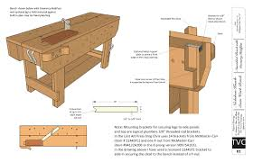 Plans For Building A Wooden Workbench by Download Free Plans For The Knockdown Nicholson Workbench Lost