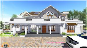 10 000 Square Foot House Plans Modern Style Sloped Roof House 4000 Sq Ft Kerala Home Design