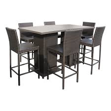 Wicker Outdoor Furniture Sets by Outdoor Pub Table Set Pub Table With Bar Stools