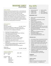 Retail Job Resumes by Retail General Manager Resume Template Examples