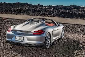 Porsche Boxster Trunk - 2016 porsche boxster spyder first drive autoweb