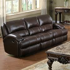 capri dark brown leather recliner sofa dcg stores