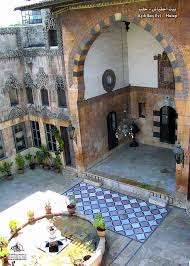 L Shaped Towhnome Courtyards The Courtyard Houses Of Syria Muslim Heritage