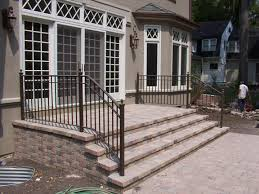 kits outdoor stair railing outdoor furniture how to build a