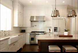 Commercial Kitchen Backsplash by Beveled Tile Beveled Subway Tile Westside Tile And Stone