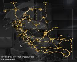Route 66 Arizona Map by American Truck Simulator Arizona Dlc What We Like To See Ats World