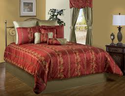 Red King Comforter Sets Red And Gold California King Comforter Sets With Richly Woven