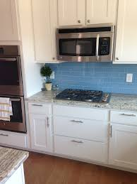 glass tiles for kitchen backsplashes kitchen backsplash blue subway tile gen4congress com