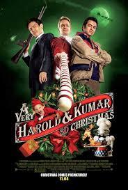 Dos colgaos muy fumaos en Navidad