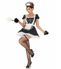 Sexiest Pirate Halloween Costumes French Maid Sexiest Costumes Spirit Halloween Popsugar