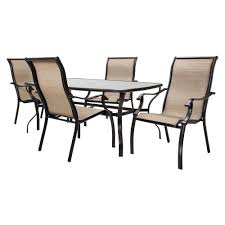 Best Price For Patio Furniture by Buy Cheap Outdoor Patio Home Bromley Tan Metal Sling 5 Pc