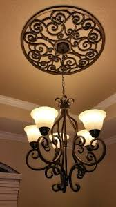 Dining Room Ceiling Fan by Best 25 Ceiling Medallions Ideas On Pinterest Televisions For