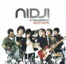 Nidji – Album Breakthru (English Version) | Music