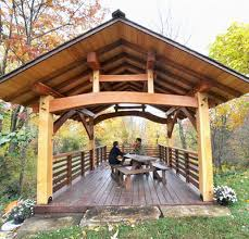 Timber Frame Pergola by Timber Frame Gallery Of Post And Beam Houses Barns Projects By
