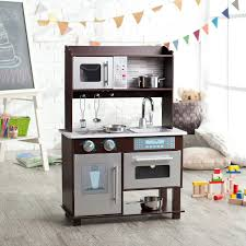 Kitchens Images Kidkraft Uptown Espresso Play Kitchen 53260 Hayneedle