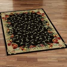 Rug For Kitchen Kitchen Accessories Black Cream Rug Rooster Rugs For The Kitchen