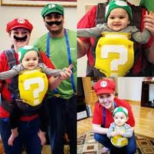 Baby Carrier Halloween Costumes Super Mario Baby Carrier Costume Floral Wreaths Cut