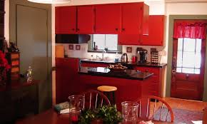 Red And Black Kitchen Ideas Red And Yellow Kitchen Ideas Square Nylon Carpet Green Art Wood