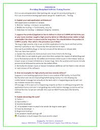 Sample Resume Of Manual Tester by Application Testing Template Contegri Com